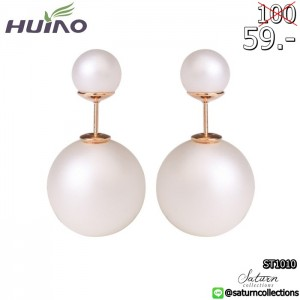 2015-Cc-Brinco-Trendy-Round-New-Fashion-Paragraph-Hot-Selling-Earrings-Double-Side-Shining-Pearl-15mm