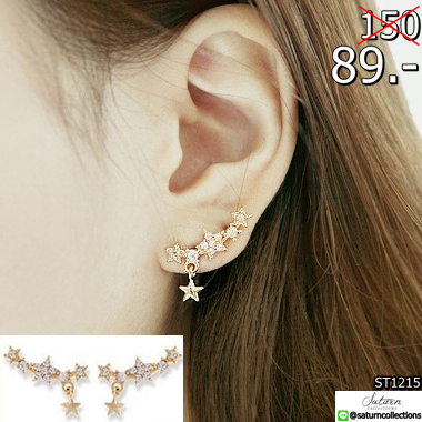 2559-05-24 00_42_05-New Fashion Exquisite Brand Designer Cute Pearl Rhinestone Star Earring Clips Wo
