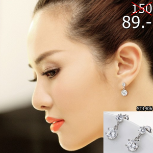 2559-11-08 22_23_10-classic snowflake Stud Earrings small Cubic Zirconia earrings-in Stud Earrings f