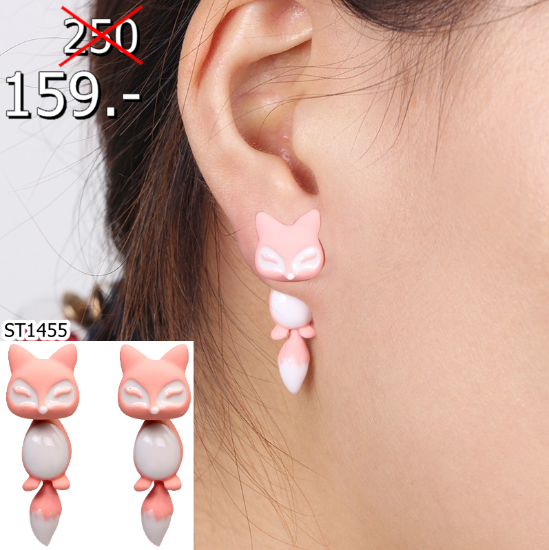 2560-01-26 11_24_09-New Fashion 12 Colors Yellow Purple Black 3D Animal Cute Fox Stud Earrings for W