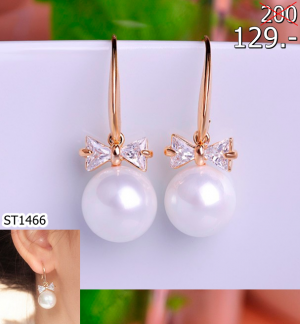 2560-01-26 16_46_15-Blucome Dangle Cubic Zircon Rhinestone Copper Imitation Pearl Earring Bowknot El